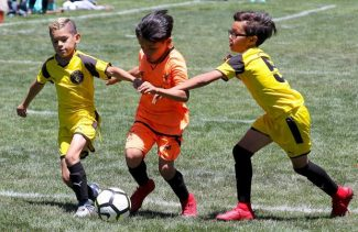 Tahoe Training Camps offering kids soccer day camps in July