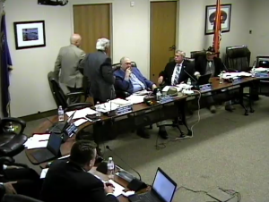 Douglas County chairman says he regrets behavior at meeting where fight occurred