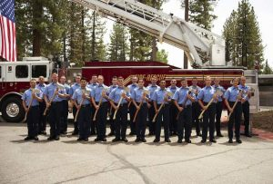 Photo: Graduation day for Lake Tahoe Basin Fire Academy cadets