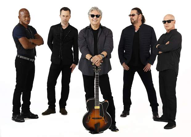 Steve Miller Band performing at Lake Tahoe with Marty Stuart and His Fabulous Superlatives